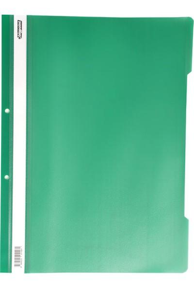 Bigpoint Plastik Telli Dosya Yeşil 50'Li Paket