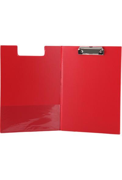 Kraf Sekreterlik A4 Kapaklı 1045 Kırmızı