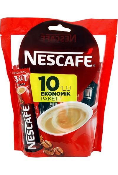 Nescafe 3 Ü 1 Arada 10'Lu Ekonomik Paket