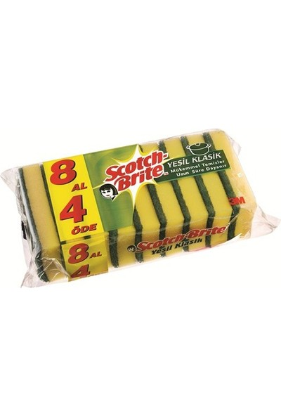Scotch Brite Sünger 8'Li Avantaj Paket