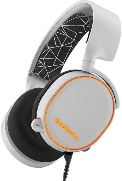 Steelseries Arctis 5 USB RGB Kulaküstü Beyaz Oyuncu Kulaklığı SSH61444