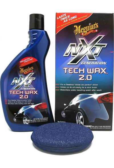 Meguiar's NXT Generation Tech Wax 2.0 Boya Koruyucu Sıvı Wax 8512718