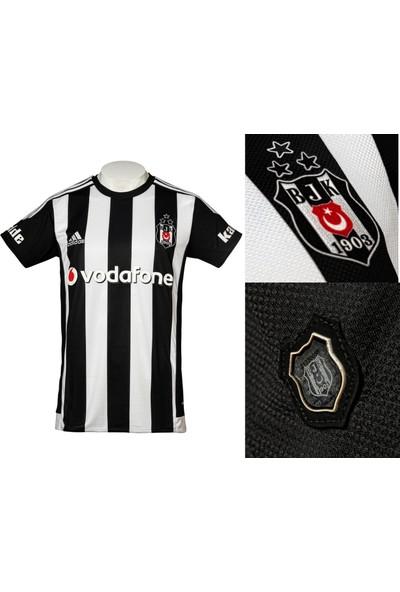 Beşiktaş Üç Yıldızlı Çubuklu Forma 2015 An 5921