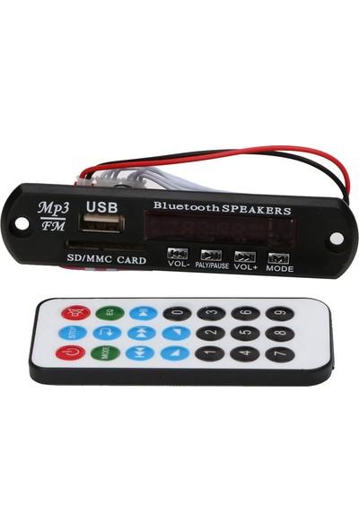 Aux Usbsd Çevirici Dijital Göstergeli Mp3 Player