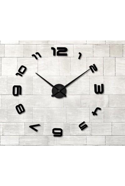 Dıy Clock Yeni Nesil 3D Duvar Saati Model 13