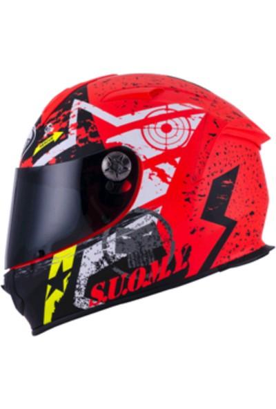 Suomy SR-Sport Stars Orange Kask