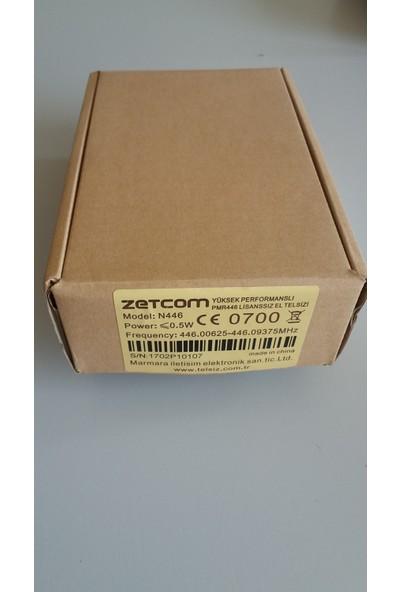 Zetcom Yüksek Performanslı Pmr N446 Lisanssız El Telsizi