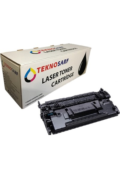 Teknosarf Hp Cf287A Muadil Toner