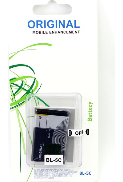 Able Nokia 3100 Cep Telefonu Bataryası