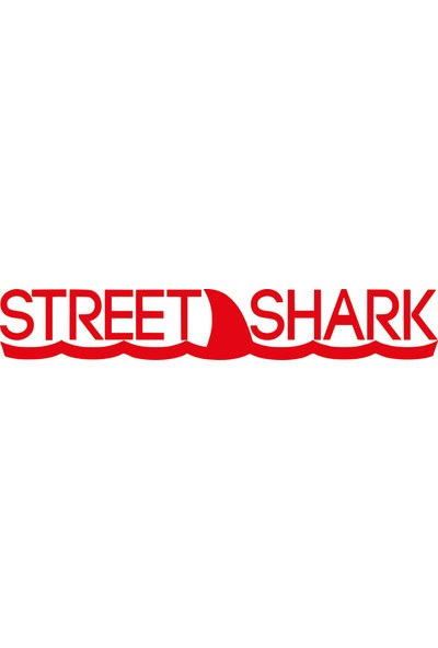 Smoke Street Shark Ön Cam Yazı