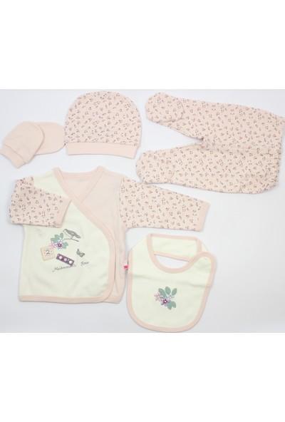 Baby Center Matmazel 5 li Zıbın Takımı