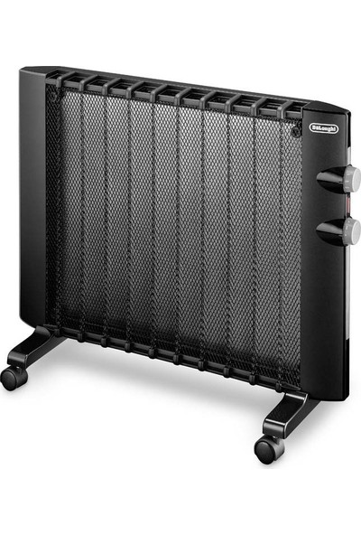 Delonghi 1000 W Mika Teknolojili Panel Radyatör - Siyah