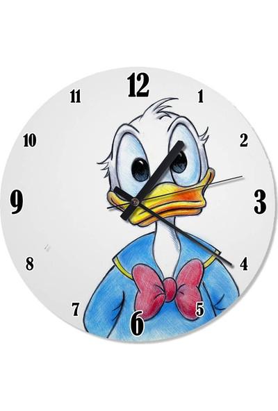 Tablomega Donald Duck Çocuk Odası Duvar Saati