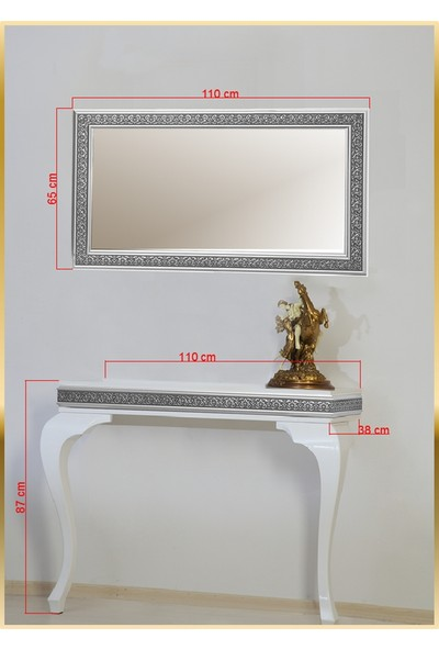Decorotti Ferro A3-2 Gizli Bölmeli Dresuar Ayna
