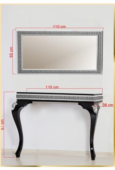 Decorotti Ferro A4-2 Gizli Bölmeli Dresuar Ayna