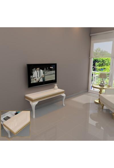 Decorotti Lucca A1-1 Gizli Bölmeli Tv Sehpası