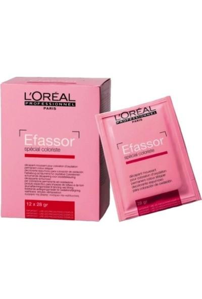 L'Oréal Professionnel Efassor Boya Silici Saçtan Boya Çıkarıcı+ Boya Kusturucu 12*28 Gr