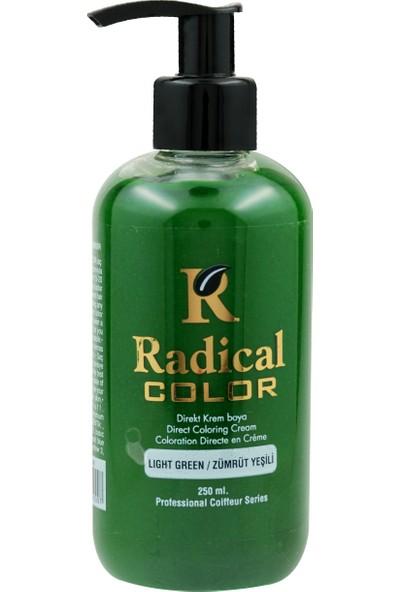 Radical Color Su Bazlı Saç Boyası Zümrüt Yeşili 250 Ml