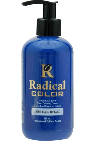 Radical Color Su Bazlı Saç Boyası Turkuaz 250 Ml