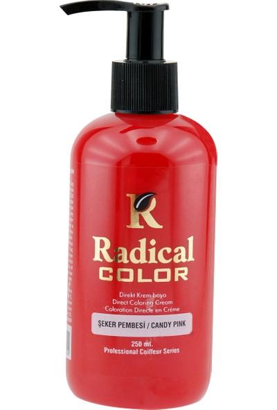 Radical Color Su Bazlı Saç Boyası Şeker Pembe 250 Ml