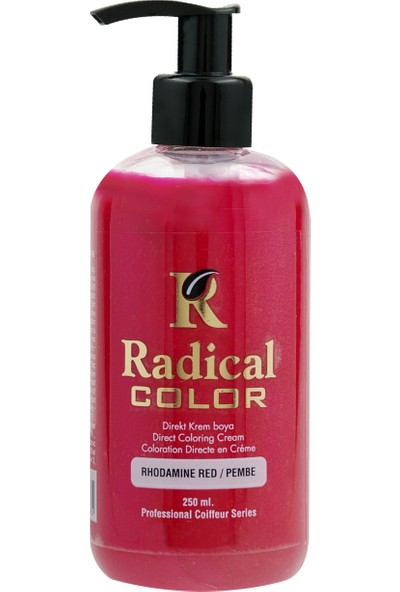 Radical Color Su Bazlı Saç Boyası Pembe 250 Ml