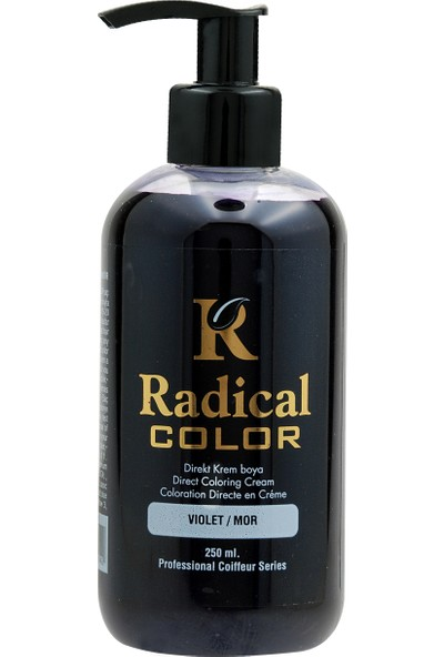 Radical Color Su Bazlı Saç Boyası Mor 250 Ml