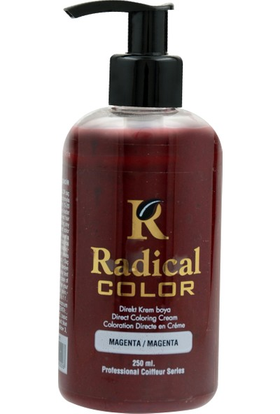 Radical Color Su Bazlı Saç Boyası Magenta 250 Ml