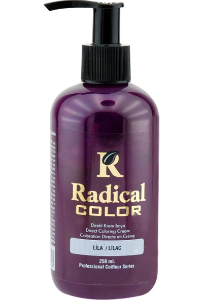 Radical Color Su Bazlı Saç Boyası Lila 250 Ml