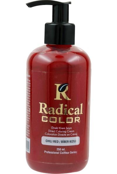 Radical Color Su Bazlı Saç Boyası Biber Kızılı 250 Ml