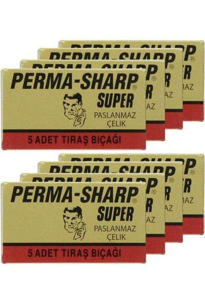 Perma Sharp 5 Li Jilet 20 Li Paket