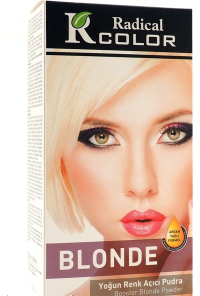 Radical Color Blonde Yoğun Renk Açıcı Argan Yağlı Formül
