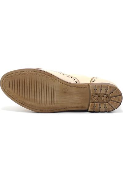 Mammamia 3820 Kadın Deri Ayakkabı