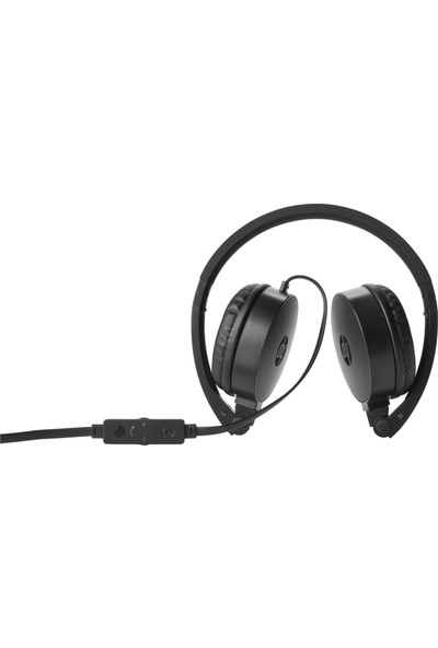 HP H2800 Kulak Üstü Siyah Kulaklık J8F10AA