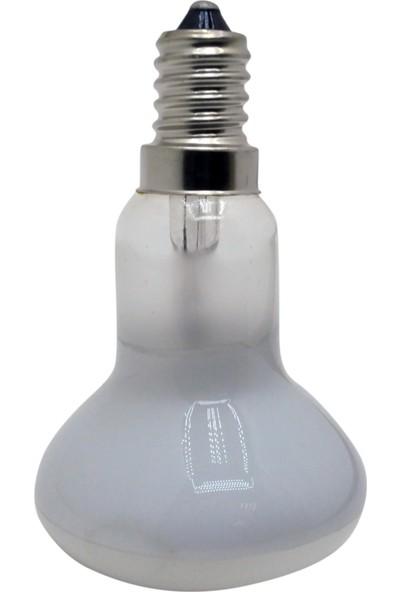 Quant 40W Akkor Buzlu Ampul (Sarı Işık) E14