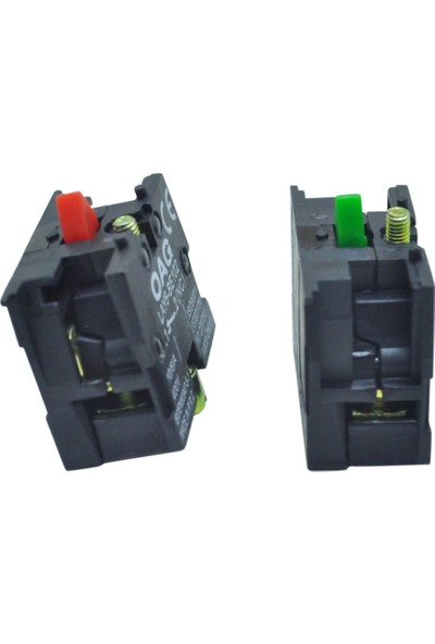 El-Max Lay5 (Db2) Be102 Yedek Kontak Blok Q22 1Nc (Kırmızı)