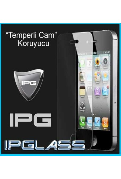 IPG Apple iPhone 5 - 5S Temperli Cam Ekran Koruyucu