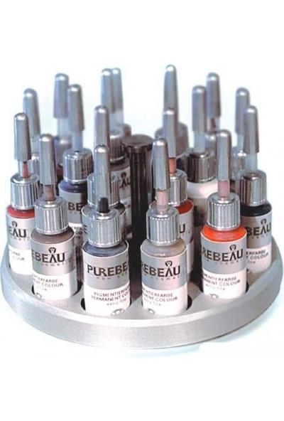 Pure Beau Dark Brown 001 - Kalıcı Makyaj Boyası