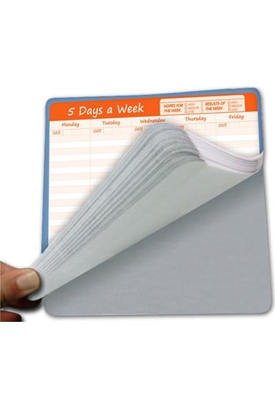 Direkt-Al Mouse Pad - Haftalık Kağıt Planer-Sümen Elma