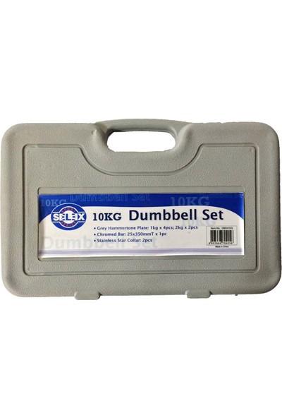 Selex Dbs 4103 10 Kg Dumbell Set