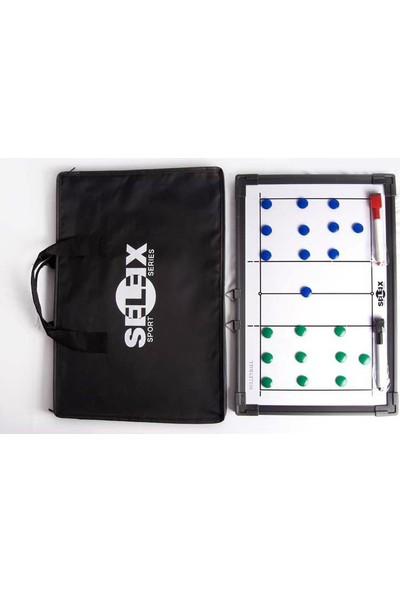 Selex Çift Taraflı Taktik Tahtası (Basketbol Voleybol)