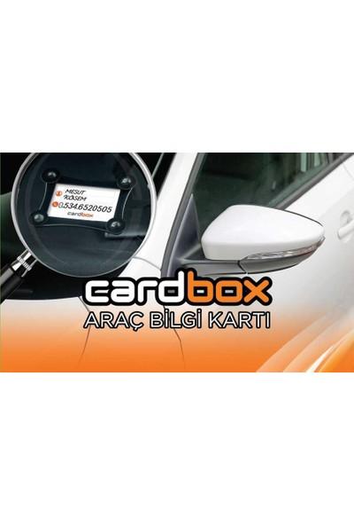 Cardbox Araç Bilgi Kartı