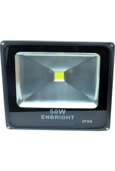 Enbrıght 50W Cob Led Projektör (Beyaz Işık)