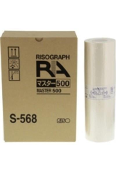 Ricoh Rısograph S-568 Siyah Mürekkep -Rc 4500/Rc 5600/Rc 6300/Ra 4050/Ra 4200/Ra 4900