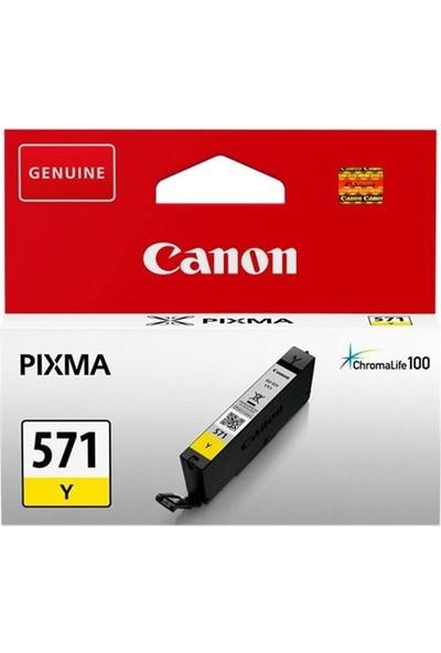 Canon Clı-571Y Sarı Kartuş Mg5700 / Mg6800 / Mg7700 Serisi
