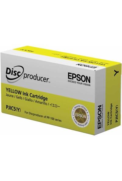 Epson Pjıc5(Y) Pp-100 Sarı Kartuş-Discproducer (S020451)