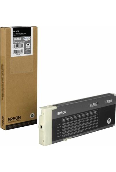 Epson T6181 Siyah Kartuş B-500/B-510 Extra Yüksek Kapasite