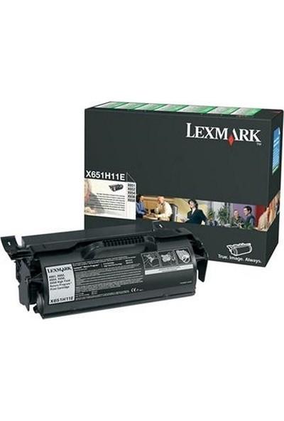 Lexmark X651H11E Toner Yüksek Kapasite X651 / X652 / X654 / X656