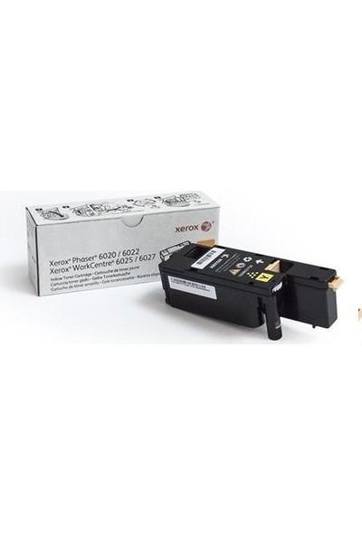 Xerox 106R02762 Phaser 6020 / 6022 / Wc6025 / Wc6027 Sarı Toner