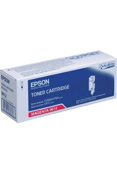 Epson Cx17 / C1700 S050612 Kırmızı Toner