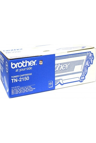Brother Tn-2150 Siyah Toner Dcp-7040 / Hl-2140 / Mfc-7320